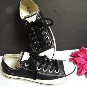 Converse Shoes - CONVERSE Leather Low Top Sneakers All Star W 8.5
